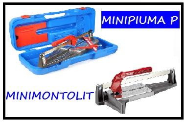 Плиткорезы серии MINIPIUMA и MINIMONTOLIT (длина реза до 45см)